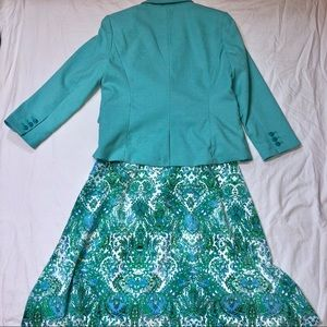 The Limited Skirts - The Limited Skirt and Blazer Suit Set Medium
